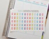 Medicine Stickers, Set of 65 Planner Stickers, Prescription Bottle, Erin Condren Planner Stickers, Happy Planner