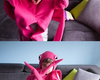 Pink Octopus Costume, Octopus Halloween Costume, Party Costume, For Boys or Girls, Toddler Costume