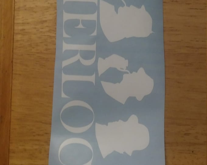 Sherlock Generations Vinyl Decal