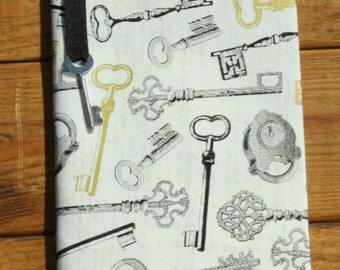 Antique Key Composition Notebook Cover