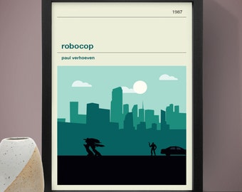 Robocop Movie Poster - Movie Poster, Movie Print, Film Poster, Film Print
