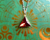 GOING OUT of BUSINESS--50% off Legend of Zelda-inspired Triforce of Power necklace