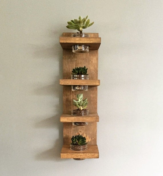 Wall Planter Modern Succulent Indoor Plant Holder Herbs