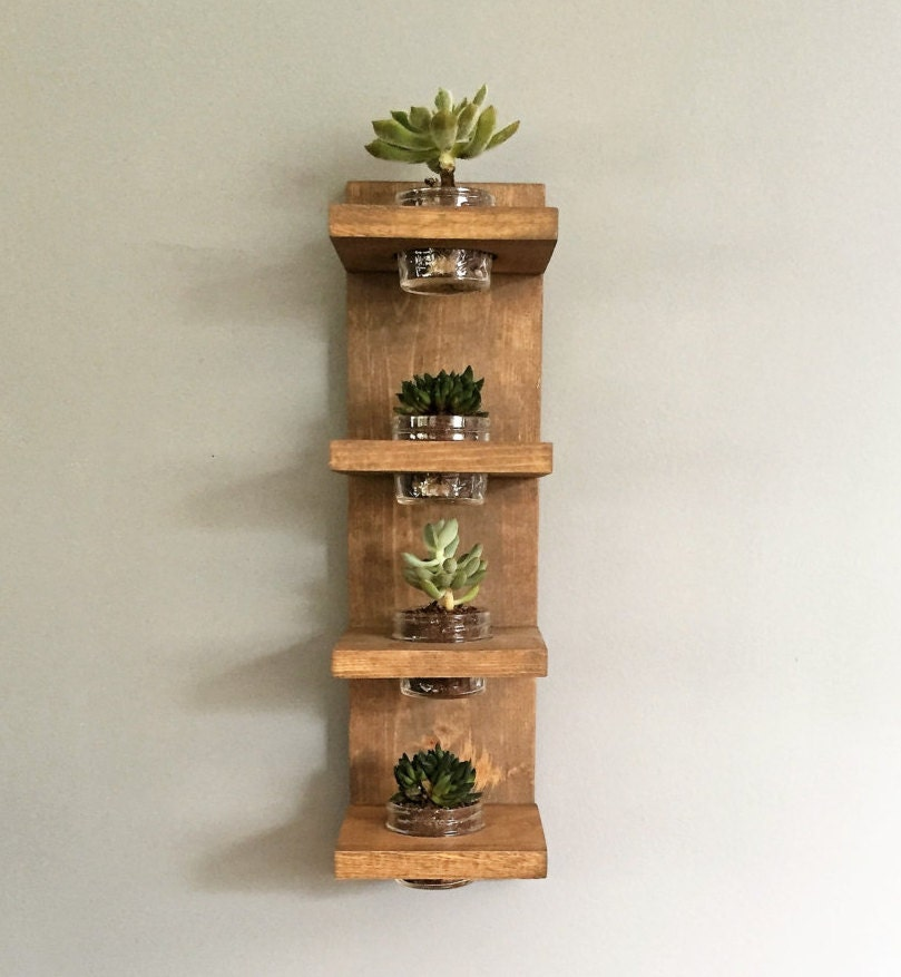 Wall Planter Modern Succulent Indoor Plant Holder