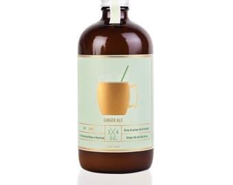 Ginger Ale and Hops Syrup! Sirop de Ginger Ale et Houblon Maison
