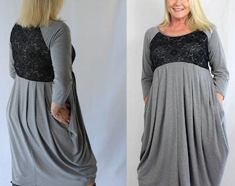 women's dress pattern, dress pattern, knit dress pattern, sewing pattern, womens pattern, dress pdf, pdf pattern, Darcy Mama dress