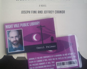 Welcome to Night Vale Public Library card (Customisable)