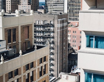 Center City Philadelphia Photography, Urban City Landscape, Skyline Print,  Architectural Photography, Fine Wall Art