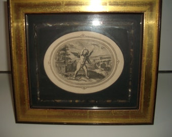 Antique Engravings - (Pair)