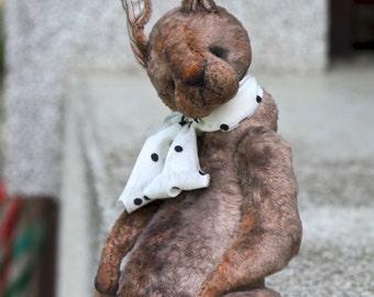 "SOLD NEW Artist Bunny ""Lilu""  30 cm  animals-stuffed- bear-interior toy-personalized teddy bear"