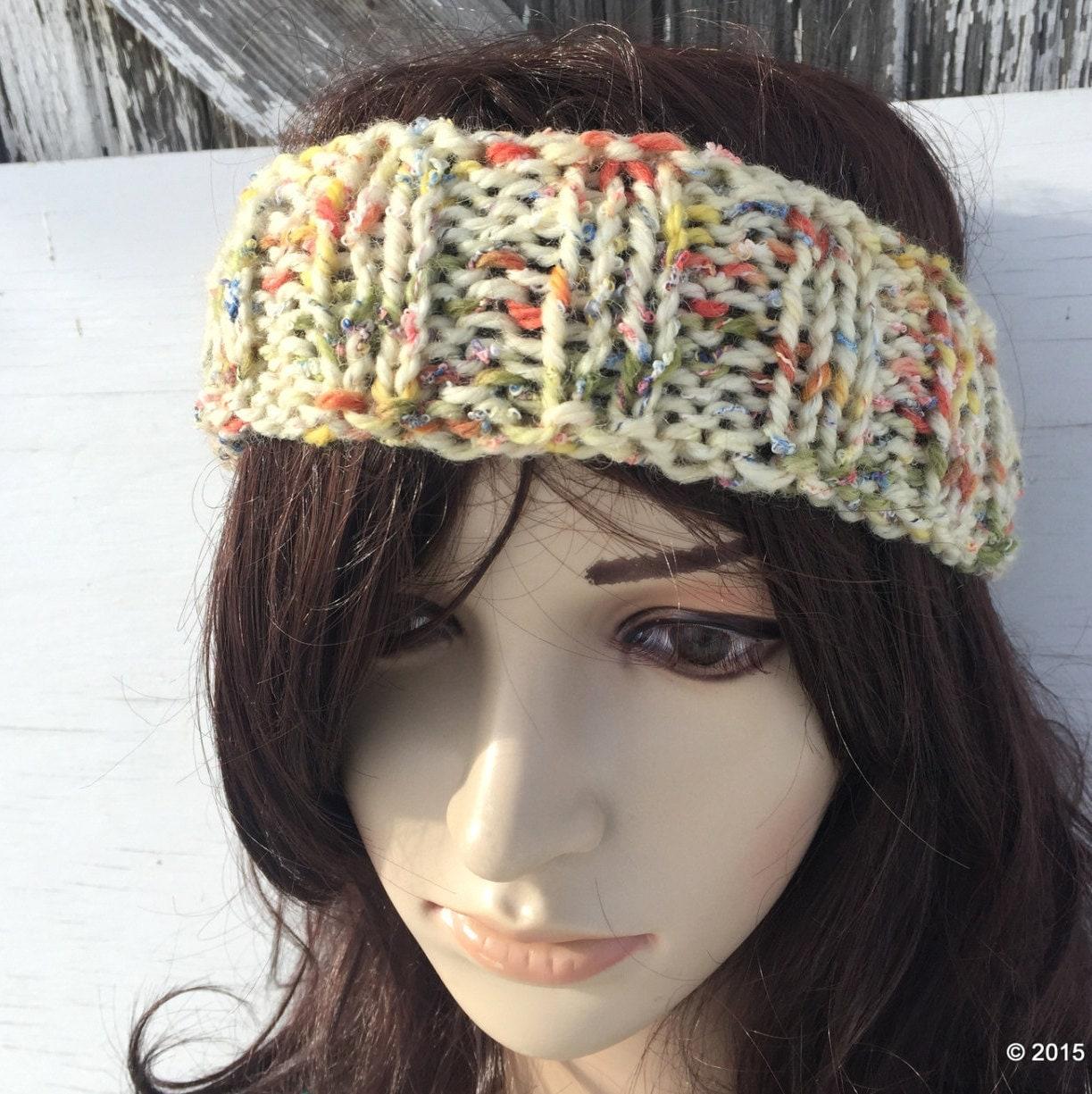 Womens RIBBED HEADBAND Headband for WOMEN Knit Headband by ...