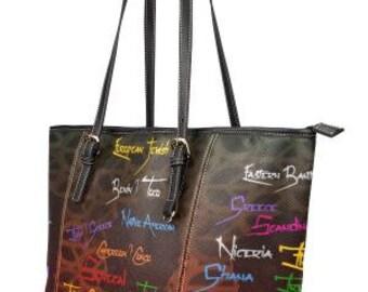Sandra Burchette Signature Leather Large Handbag