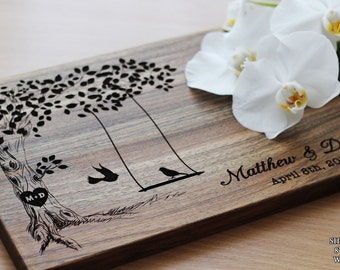 Personalized Wedding Gift for CoupleCutting Board Wedding Engagement gift Wedding Gifts For Bride Bridal Shower Gift House warming gift