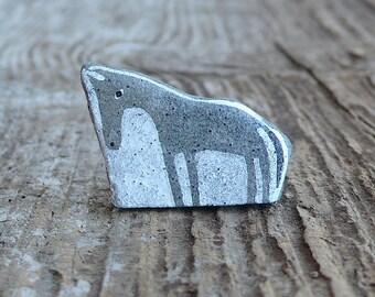 Beach Stone Horse