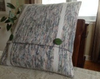 "Handwoven 20"" Pillow Cover"