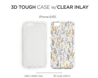 iPhone 7 Case Watercolor Floral iPhone 7 Plus iPhone 6s Case iPhone SE Case iPhone 6 Case iPhone 5S Case Galaxy S7 Case Galaxy S6 Case C76