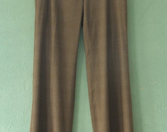 70's Brown Flare Trousers