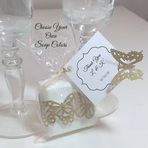 50 Gold Wedding Favors 50th Anniversary Party Favors Gold