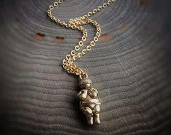 Venus de Willendorf Goddess necklace