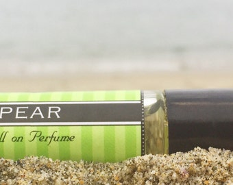 PEAR || Roll on Perfume || Birthday Gift Gift for Her || Long lasting perfume || vegan perfume || Gift for Mom