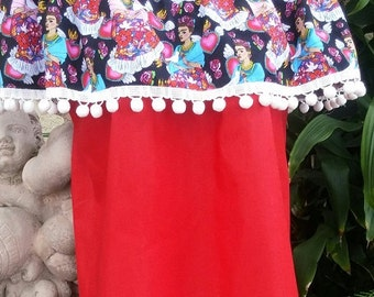 Day of the Dead Freda Top