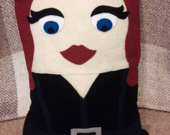 Black Widow Pillow