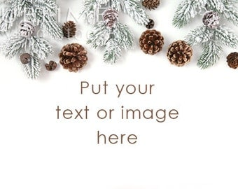 Styled Stock Photography / Christmas Background / Christmas Mockup / Christmas Desktop / Winter Styled / Christmas Photo / StockStyle-740