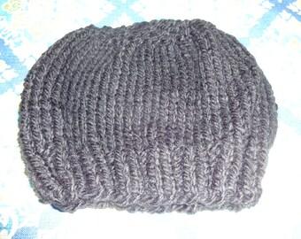 Beanie, Slouchy, Hat, Handmade