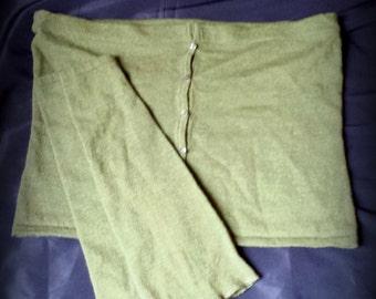 Mini Skirt & Leg Warmer Set