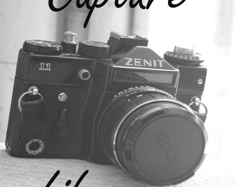 Camera print, Camera Photo, Black and White print, Camera Decor, Camera Gift, Vintage Camera Print, Photography Print, Camera Art Print