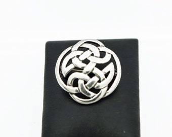 A Silver Celtic Design Brooch  SKU772