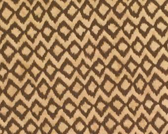 Hummingbird Garden by Sadie for Clothworks Textiles Y1653-12 Khaki