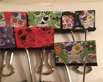 Calacas binder clips