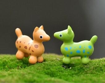10 pcs 29x26 mm PVC horse /Miniature Figurine/cute/Decoden/Lovely/Horse