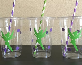 Tinkerbell party cups, Fairy Party Cup