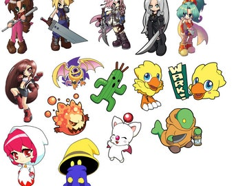 Final Fantasy Art Stickers