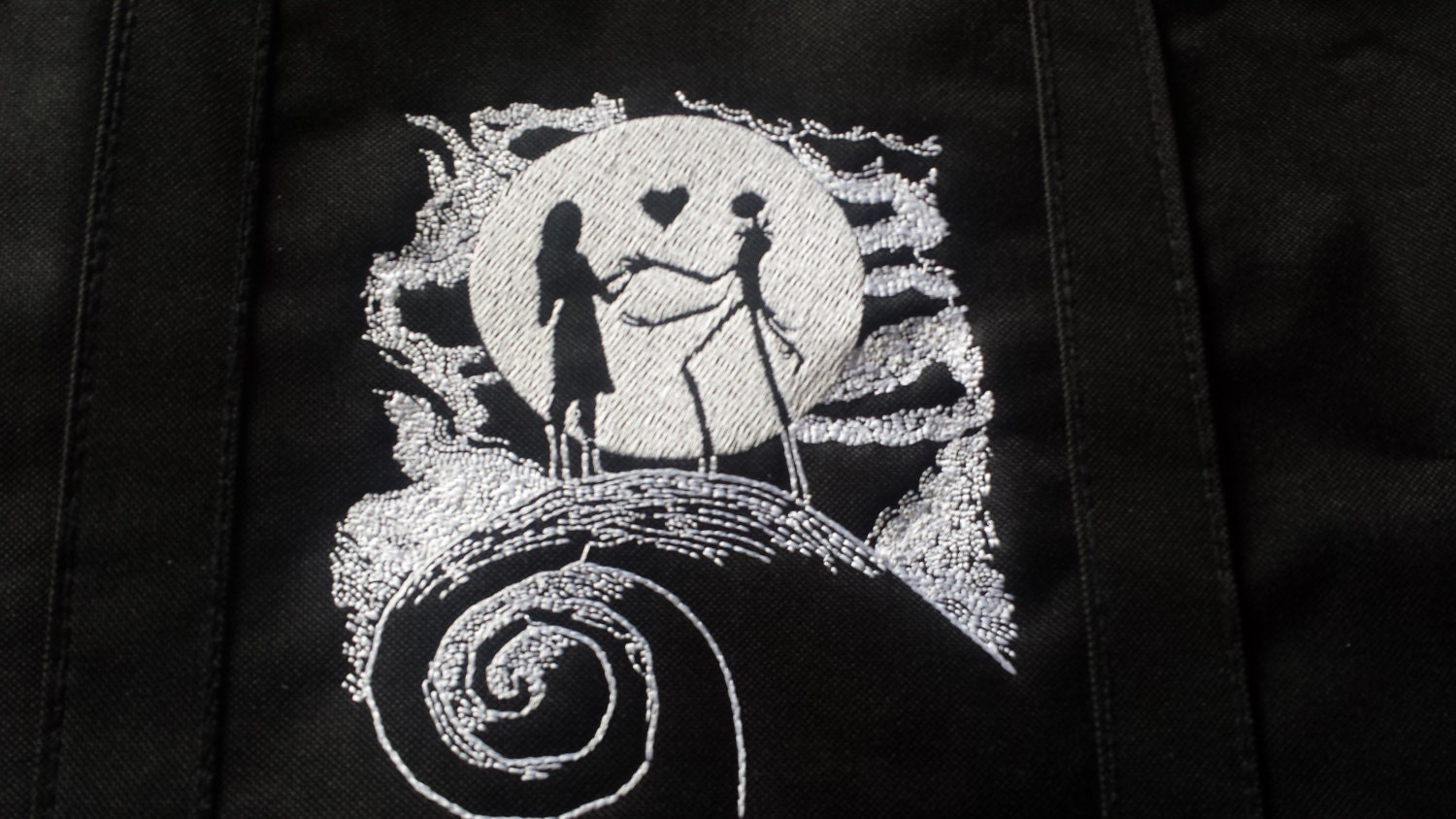 This is a photo of Canny The Nightmare Before Christmas Logo