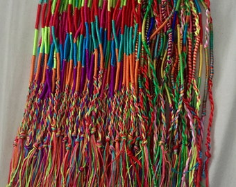 Braided multicolour thread anklets/bracelets