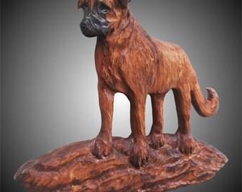 Standing Anatolian Dog Wall Sculpture
