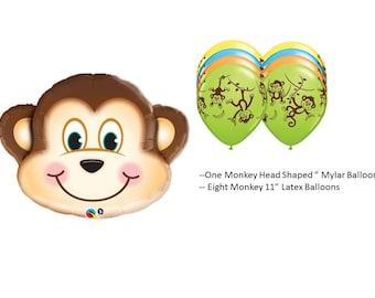 Monkey Balloons