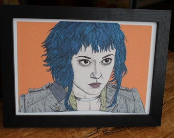Ramona Flowers Scott Pilgrim vs. The World Film Movie Illustration Art Print