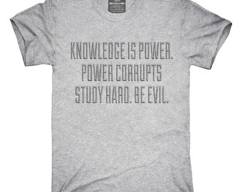 Knowledge Is Power T-Shirt, Hoodie, Tank Top, Gifts