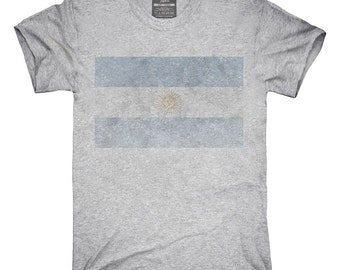 Retro Vintage Argentina Flag T-Shirt, Hoodie, Tank Top, Gifts