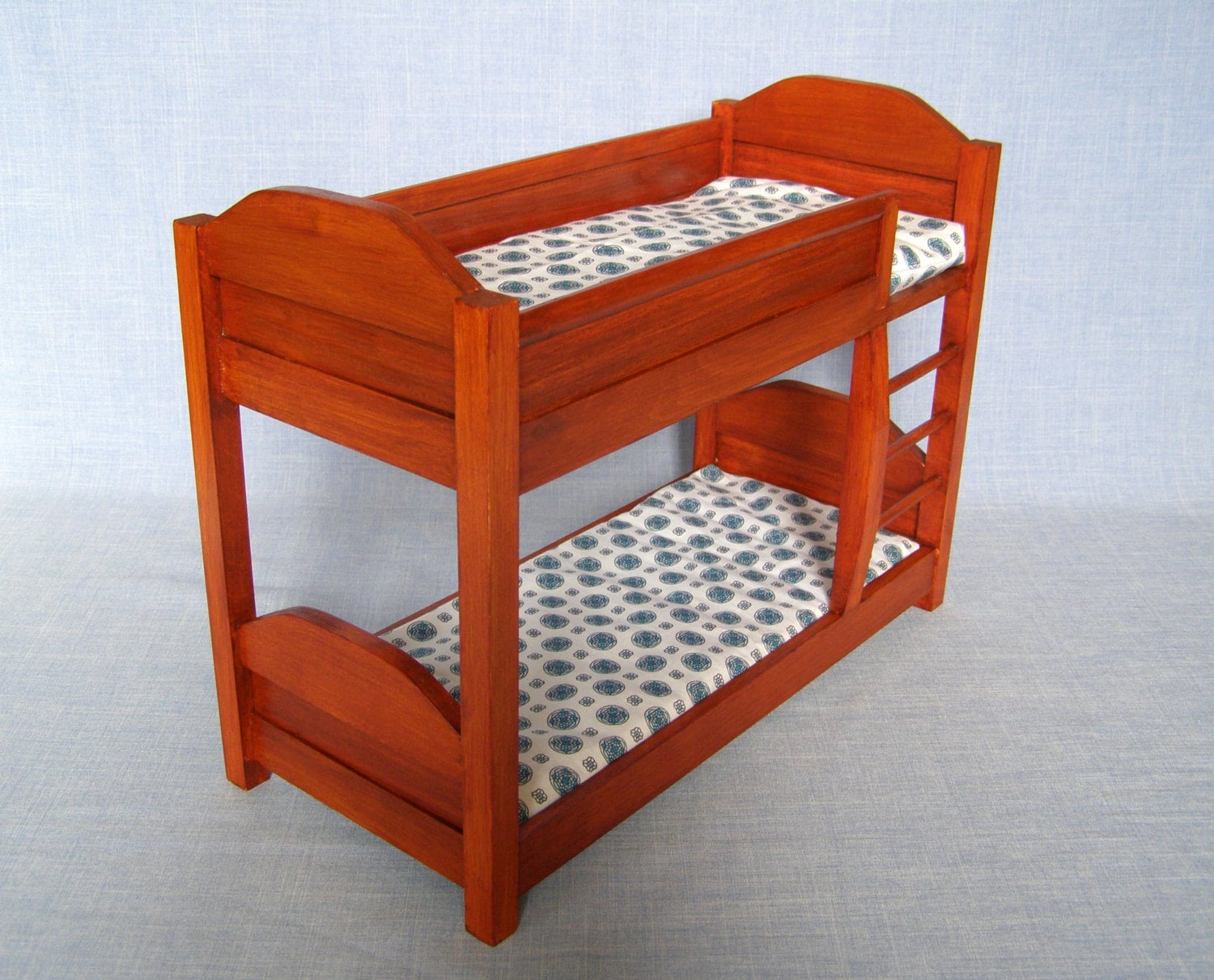 Bunk Bed With Mattress For 12 Inch Doll 1 6 Scale Barbie
