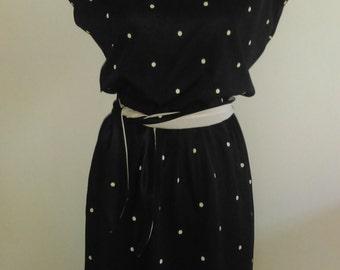 Vintage Black Dress.