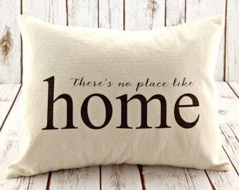 Items similar to Welcome Home 18 x 18 Pillow Decorative Throw Pillow Home Decor Typography Text ...