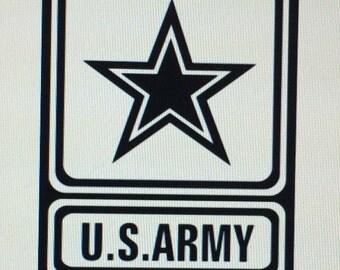 US Army Die Cut Vinyl Decal