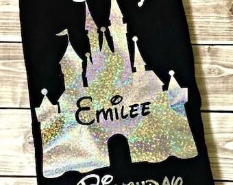 Birthday Princess, Princess Shirt, Birthday Shirt, Birthday Gift, Birthday, Disney Vacation, Fairy Birthday Shirt, Fairy Shirt, Rainbow, Age