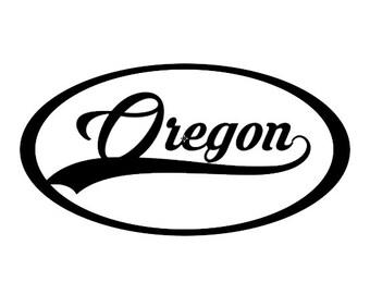 Oregon decal