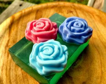 Patio Garden - Glycerin, Shea, and Mango Butter Soap